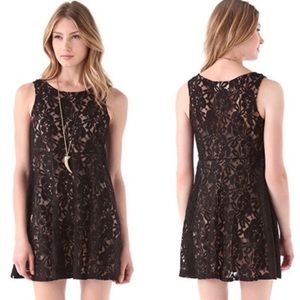 Free People Miles of Lace Dress sz XS